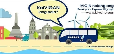 Laoag na ma-stress sa APEC! Book online instead!