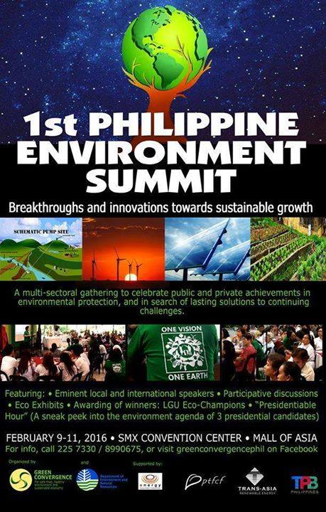 1st Philippine Environment Summit