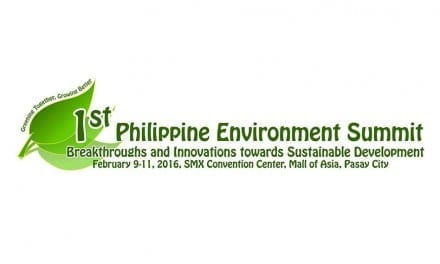 1st Philippine Environment Summit Set